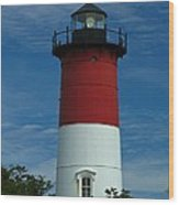 Nauset Beach Lighthouse Wood Print by Juergen Roth