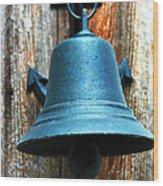Nautical Bell Wood Print