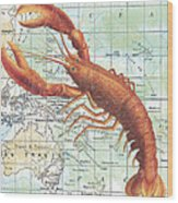 Nautical Journey-i Wood Print