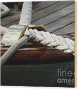 Nautical Textures Wood Print