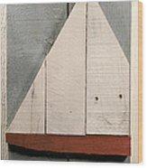 Nautical Wood Art 01 Wood Print by John Turek
