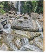 Nauyaca Waterfall Wood Print