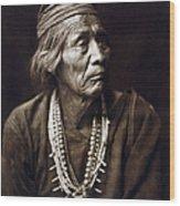Navajo Medicine Man, C1904 Wood Print