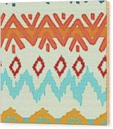 Southwest Pattern I Wood Print