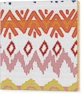 Navajo Missoni IIi Wood Print