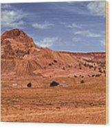 Navajo Nation Series Along Arizona Highways Wood Print