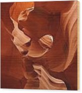 Navajo Red Wood Print