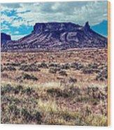Navajo Reservation Series 1 Wood Print
