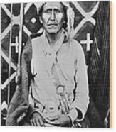 Navajo Shaman, C1880 Wood Print