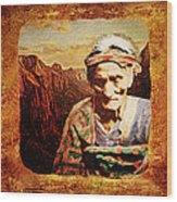 Navajo Triptych  Wood Print