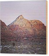 Navajo Winter Wood Print