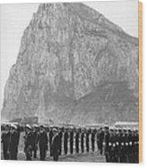 Naval Review At Gibraltar Wood Print