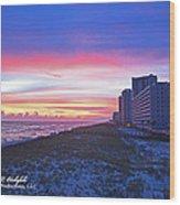 Navarre Beach Fl 2013 10 30 I Wood Print