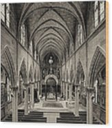 Nave IIi Wood Print by Dick Wood