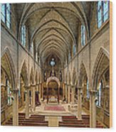 Nave Iv Wood Print by Dick Wood