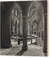 Nave Of St. Joseph Cathedral Wood Print
