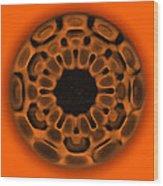 Navel Sacral Chakra Wood Print