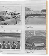 Navin Field Briggs Tiger Stadium Comerica Park Wood Print