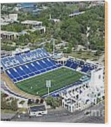 Navy Marine Corps Memorial Stadium Wood Print