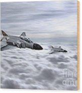 Navy Phantoms Wood Print