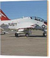 Navy T-45 Goshawk Wood Print