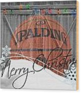 Nba Basketball Wood Print