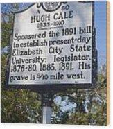 Nc-a80 Hugh Cale 1835-1910 Wood Print