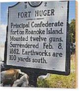 Nc-b2 Fort Huger Wood Print