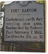 Nc-bbb2 Fort Bartow Wood Print