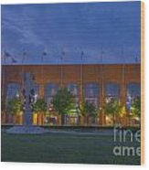Ncaa Hall Of Champions May 2013 Wood Print