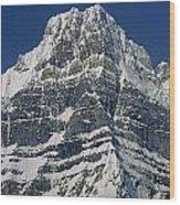1m3645-ne Face Howse Peak-v Wood Print