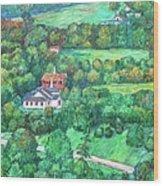 Near Tuggles Gap Wood Print