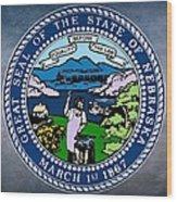 Nebraska State Seal Wood Print
