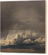 Nebraska Storms A Brewin Wood Print