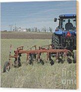 Nebraska Wheat Field Wood Print
