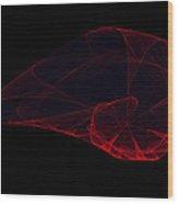 Nebula Fractal Wood Print