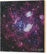 Nebula Ngc 1760, Optical Image Wood Print