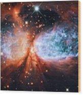 Nebula Sh 2-106 Wood Print