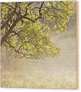 Nebulous Tree Wood Print by Heiko Koehrer-Wagner