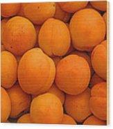 Nectarines Wood Print