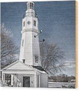 Neenah Lighthouse Wood Print