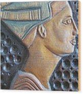 Queen Nefertiti Wood Print