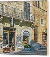 Negozi Toscani Wood Print