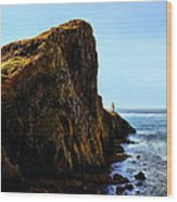 Neist Point Wood Print