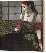 Nell Gwynn Meets The King Wood Print