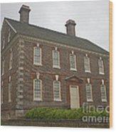 Nelson House Yorktown Wood Print