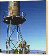 Nelson Studio  Color - Lucerne Valley Wood Print by Glenn McCarthy Art and Photography