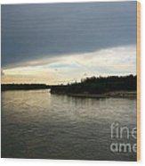 Nenana River Wood Print
