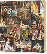 Neo-classicism 1750 To 1830 Wood Print