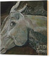 Nephrite's Horses On Stairs Wood Print